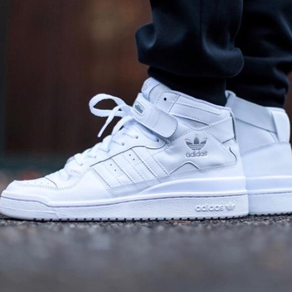 adidas Shoes | Adidas High Rise White